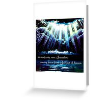New Jerusalem : the bride Greeting Card