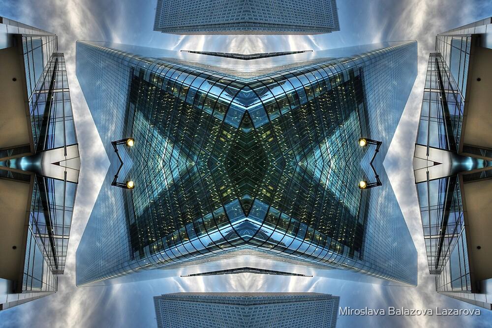 Modern Architecture London by Miroslava Balazova Lazarova