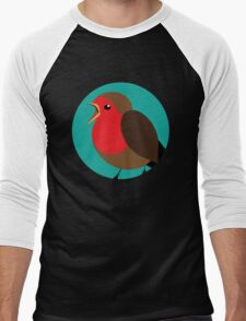 Vector Robin Men's Baseball ¾ T-Shirt