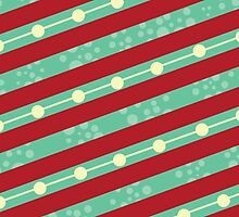It's A Quirky Christmas- Christmas Pattern by Rainink