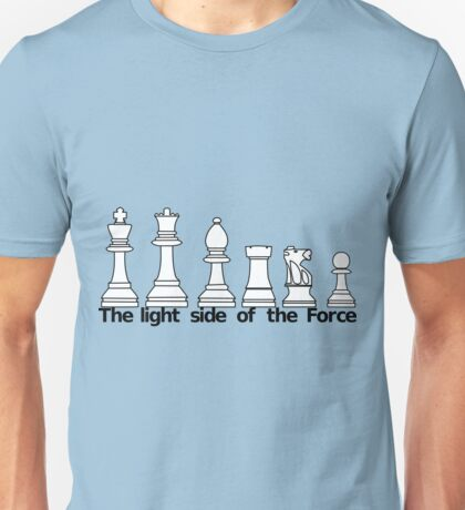 The Light Side Of The Force Unisex T-Shirt