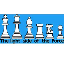 The Light Side Of The Force Photographic Print