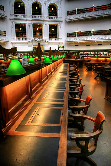 Inside the Reading Room by Christine Smith