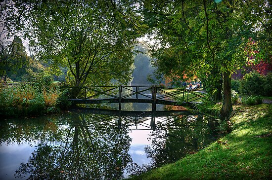 Bridge to Kates Island by Colin Metcalf