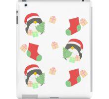 Penguin and Christmas Stockings #1 iPad Case/Skin