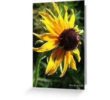 Pouty Flower Greeting Card