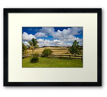 Rural View Framed Print
