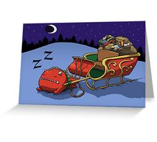 ...and to All a Good Night Greeting Card