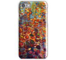 Purple Smoke Tree Towers 2 abstract  tree fall colors iPhone Case/Skin