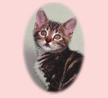 Cute kitten design One Piece - Short Sleeve