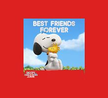 snoopy best friend forever the peanuts movie T-Shirt