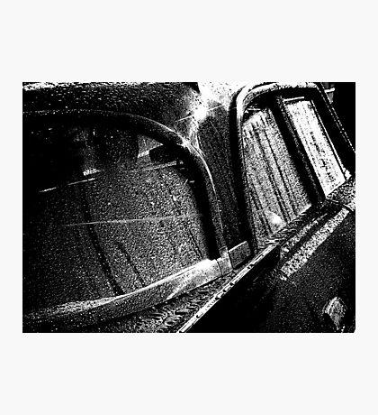 Classic Rain Photographic Print