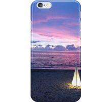 Sunset & Lantern iPhone Case/Skin