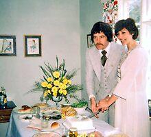 Wedding  1977 Style by lynn carter