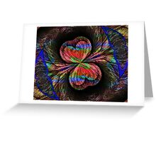 Wind Layered Greeting Card