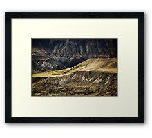 Ashcroft Badlands - British Columbia Framed Print