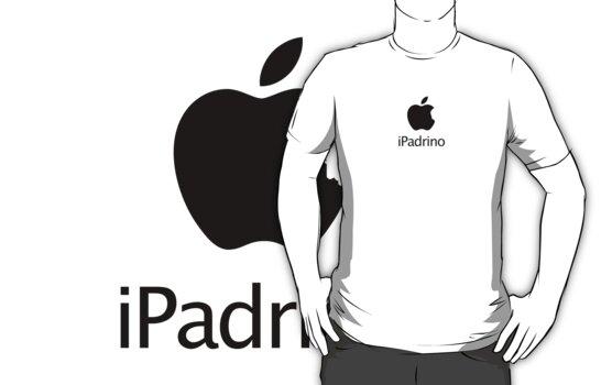 iPadrino - Steve Jobs Tribute (sticker edition) by deadlyfingers