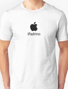 iPadrino - Steve Jobs Tribute (sticker edition) T-Shirt