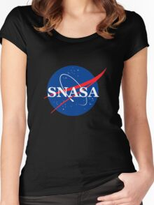 SNASA Women's Fitted Scoop T-Shirt