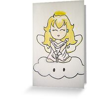 Game Over - Princess Peach Greeting Card