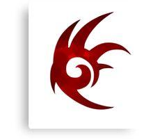 Shadow the Hedgehog Logo  Canvas Print