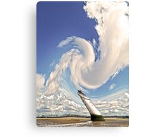 Abstract Perch Rock Lighthouse Canvas Print