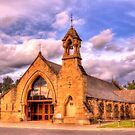 All Saints Anglican Church Canberra WAS railway Station by Kym Bradley