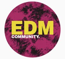 EDM (Electronic Dance Music) Community Baby Tee