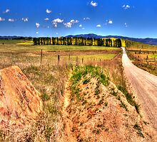 A Road Less Travelled - Goulburn NSW Australia - The HDR Experience by Philip Johnson