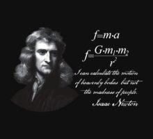 Isaac Newton (dark background) by HaemishBew