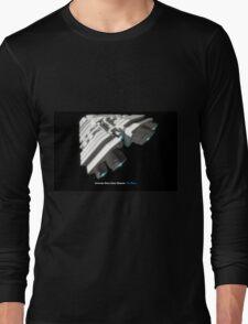 8 Bit Pixel Spaceship Leviathan Class Space Carrier - The Duke Long Sleeve T-Shirt