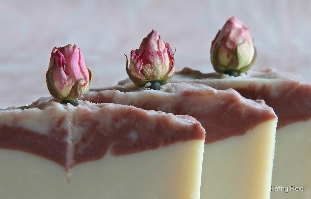 Rosebud Coconut Milk Soap by Kathy Reid
