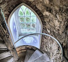 The Castle (10)    Window by Larry Lingard-Davis