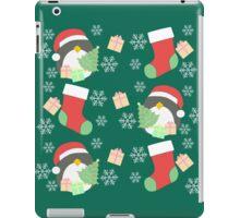 Penguin and Christmas Stockings #5 iPad Case/Skin