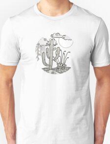 Daytime or Nighttime Desert Storms T-Shirt
