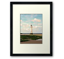 Perfectly Secluded Framed Print