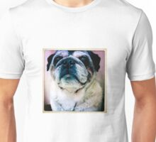 Inquisitive Pug Unisex T-Shirt