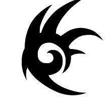 Shadow the Hedgehog Logo black by Aritzi