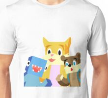 Minecraft Youtuber Stampy Cat, iBallisticsquid, L for Lee x Unisex T-Shirt