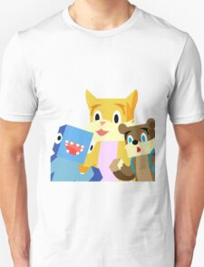 Minecraft Youtuber Stampy Cat, iBallisticsquid, L for Lee x T-Shirt
