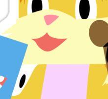 Minecraft Youtuber Stampy Cat, iBallisticsquid, L for Lee x Sticker