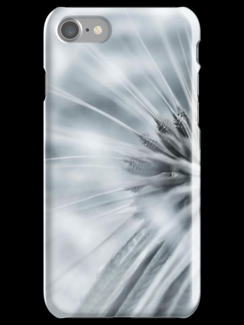 Modern Design Apple iPhone, Samsung and iPod Touch Dandelion Whisper Case Cover by David Alexander Elder