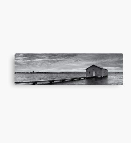 Crawley Edge Boatshed - Perth WA  Canvas Print