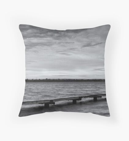 Crawley Edge Boatshed - Perth WA  Throw Pillow