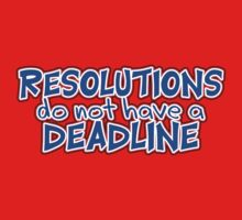 NYE Resolutions by ezcreative