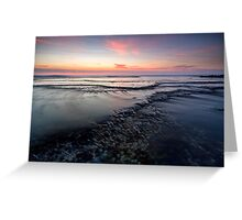 The Pastel Reef - Blairgowrie, Victoria, Australia Greeting Card