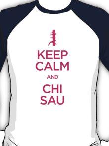 Keep Calm and Chi Sau (Wing Chun) T-Shirt