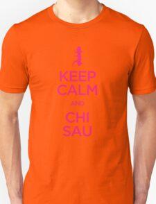 Keep Calm and Chi Sau (Wing Chun) Unisex T-Shirt