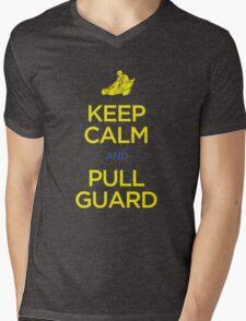 Keep Calm and Pull Guard (Jiu Jitsu) Mens V-Neck T-Shirt
