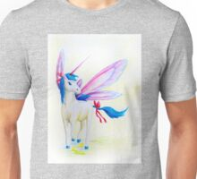 Blue Mane Fairy Unicorn  Unisex T-Shirt